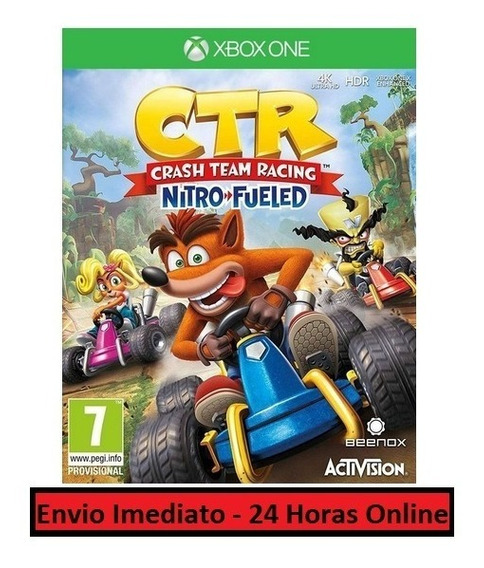 Crash Racing Jogo + Todas Dlc