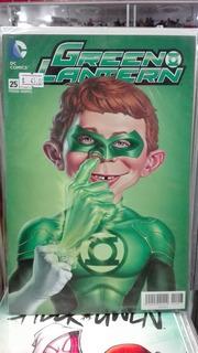 Dc Cómics Green Lantern #25 Portada Variante Mad