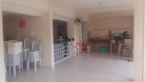 Salão Para Alugar, 60 M² Por R$ 1.500,00/mês - Vila Boaçava - São Paulo/sp - Sl0053
