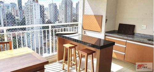 Imagem 1 de 15 de Apartamento Para Venda Em São Paulo, Brooklin, 3 Dormitórios, 3 Suítes, 5 Banheiros, 3 Vagas - Brklm1097_2-1150662