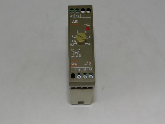 Pacote De 2 Rele Temporizador Coel Ae 6s 220v