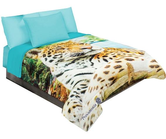 Cobertor Serenity Matrimonial Ligero Tacto Suave Animales