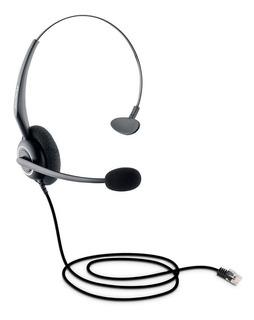 Headset Intelbras Chs 40 Telemarketing Conector Rj9