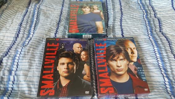 Smallville Temporadas 4 , 5 E 6 Combo Novo Lacrado