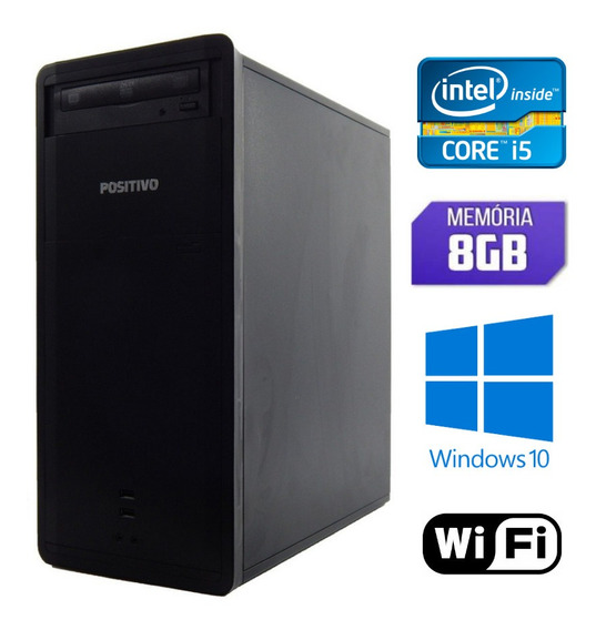 Computador I5 Ram 8gb Windows 10 + Frete + Wifi