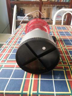 Lampião A Bateria Lindo Com Pequeno Defeito Fácil De Consert