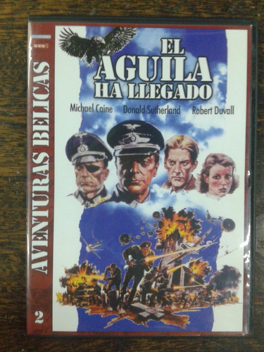 Imagen 1 de 4 de El Aguila A Llegado (1976) * John Sturges * Dvd Original *