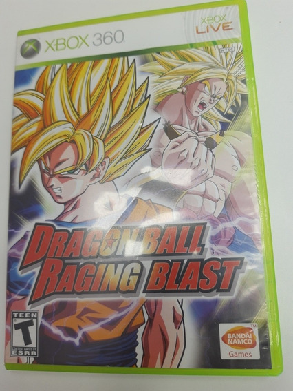 Dragonball Racing Blast Xbox 360 Original Mídia Física