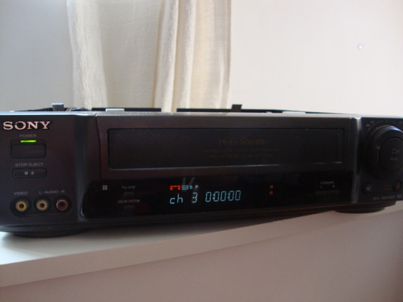 Video Cassete Sony Slv-60hfbr - Sem Controle - Com Defeito