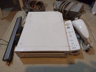 Consola Nintendo Wii Flasheada - Completa Con Juegos Y Joys