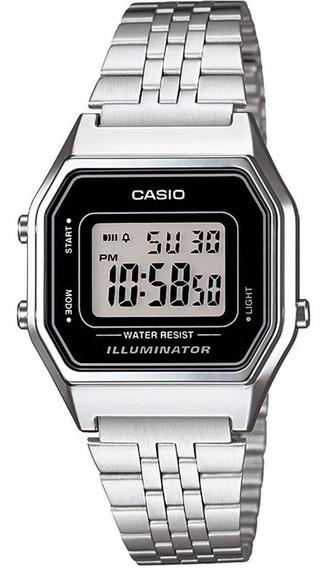 Relógio Casio La680wa-1df Unissex Original 1 Ano De Garantia