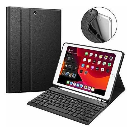 Caja Del Teclado Fintie Para El Nuevo iPad 7th Gen 10.2 PuLG