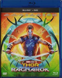 Thor Ragnarok Marvel Chris Hemsworth Pelicula Blu-ray + Dvd