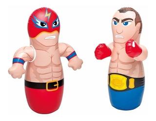 Muñeco Tentempie Inflable Intex 44672 Luchador O Boxeador