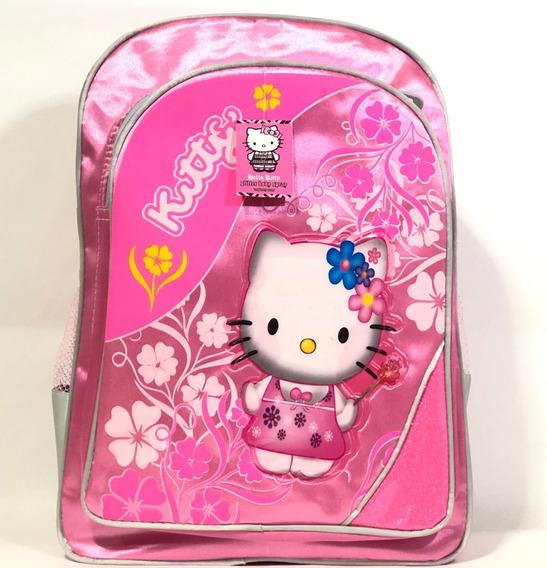 Mochila Infantil Para Niñas Hello Kitty