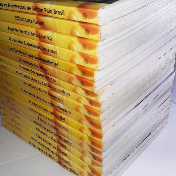 Livros Infantis Geronimo Stilton Aventuras Coleção 7 Vols.