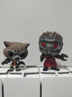 Funko Pop Guardianes De La Galaxia Rocket Racoon Y Starlord