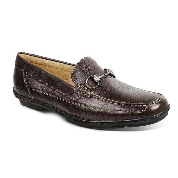 Sapato Masculino Mocassim Sandro Moscoloni Boston Marrom