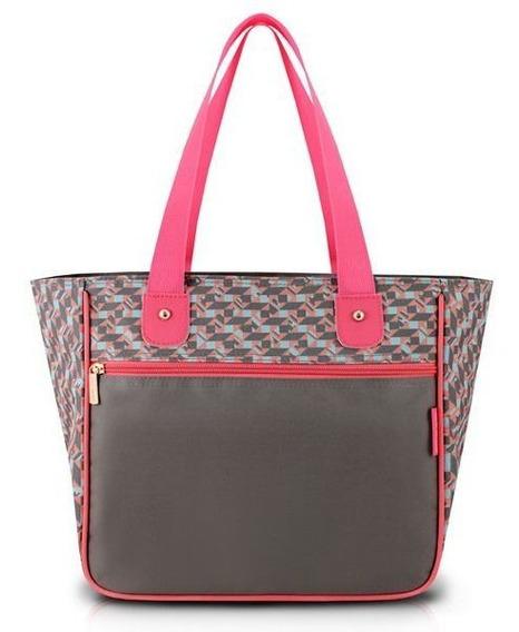 Bolsa Shopper Transversal Jacki Design Pronta Entrega