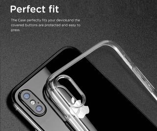 Capinha iPhone X Xs Apple Capa Case Silicone Premium Incolor