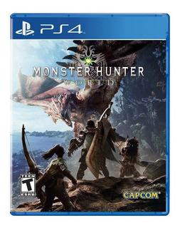 Monster Hunter World Ps4 Nuevo Sellado Envio Gratis