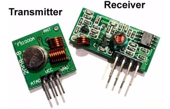 Modulo Rf 433mhz Transmissor E Receptor Arduino Pic Dados