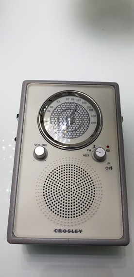 Radio Crosley - Vintage - Am/fm - Com Bluetooth