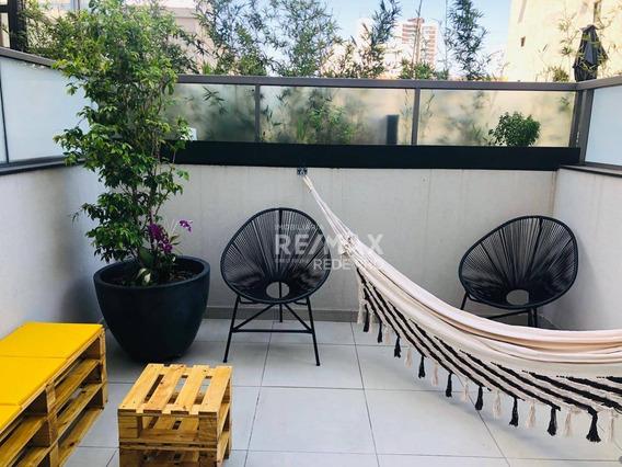 Apartamento Garden Com 1 Dormitório Para Alugar, 42 M² Por R$ 3.200/mês - Brooklin - São Paulo/sp - Gd0008