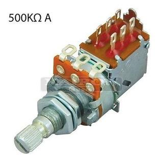 Potenciometro Push Pull 500k A500k