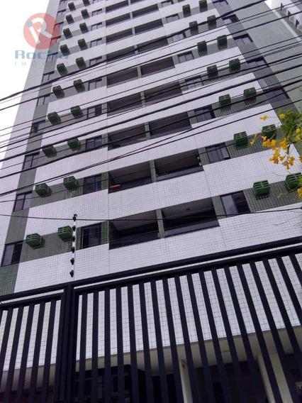Apartamento Com 2 Dormitórios À Venda, 62 M² Por R$ 280.000 - Madalena - Recife/pe - Ap9310
