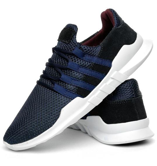 Tênis Calçado Sneaker Corrida Solado Branco Promoção