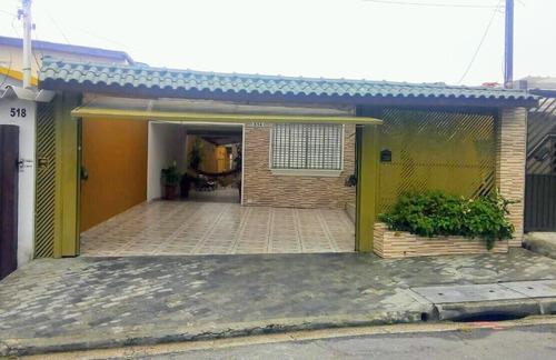 Imagem 1 de 22 de Excelente Sobrado À Venda - 5 Dormitórios - 6 Vagas - Jamaica - Santo André-sp - 48055