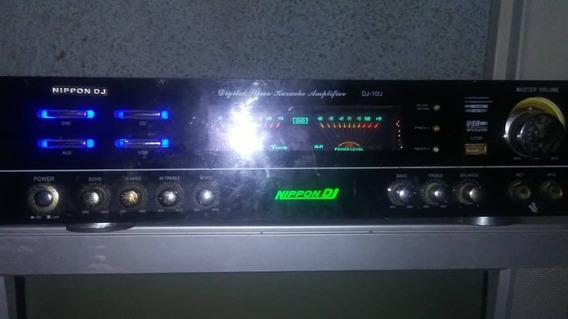 Planta Amplificador Nippon Dj De Sonido