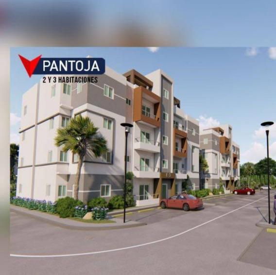 Apartamento En Pantoja, Auto. Duarte.