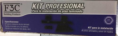 Kit Instalacion Piso Flotante Brochas