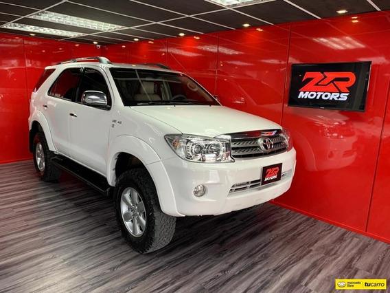 Toyota Fortuner Sr 4x4 Blindada