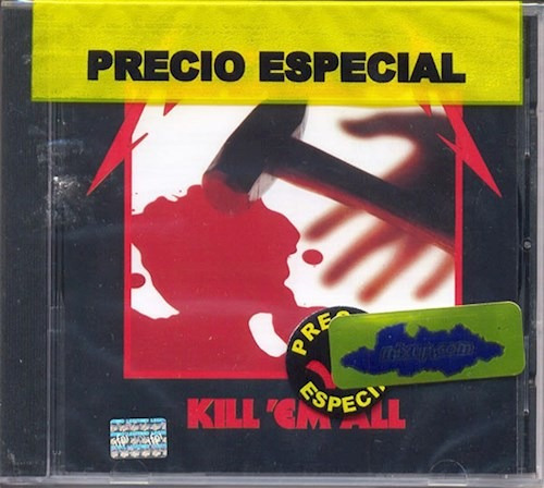 Kill Em All - Metallica (cd)