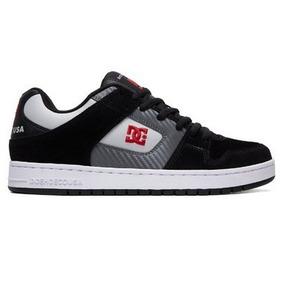Tênis Dc Shoes Manteca - Black/grey/red