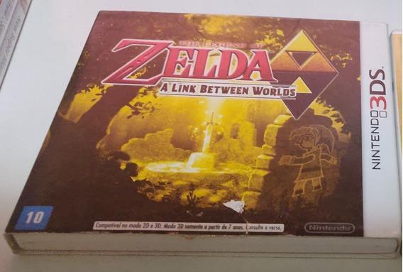 Zelda A Link Between Worlds 3ds - Nacional Com Luva