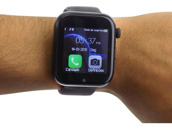 Relógio Smartwatch Original Fit Bluetooth Ios Android Celula
