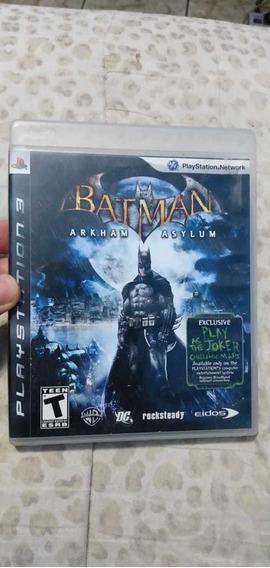Batman Arklam Asylum Original Para Ps3