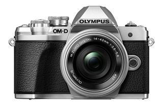 Olympus Kit Camara E-m10 Mark Iii 14-42mm F3.5-5.6 Ez Plata