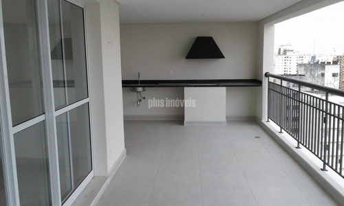 Apartamento Na Vila Mariana Com 246 Mt 4 Suítes 4 Vagas Em Condomínio Clube (nunca Habitado).visite! - Pj41277