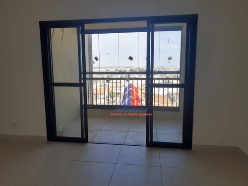 Apartamento Com 3 Dormitórios À Venda, 70 M² Por R$ 375.000,00 - Jardim Ipiranga - Americana/sp - Ap1546