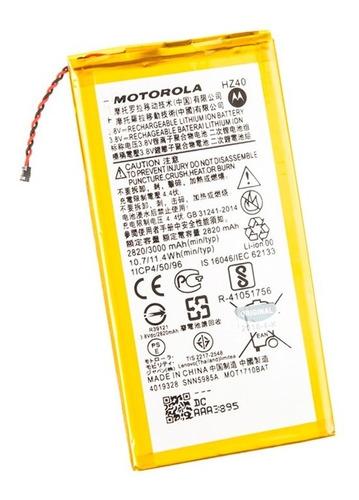 Bateria Motorola Moto Z2 Play 2820 Mah Hz40 - Lifemax