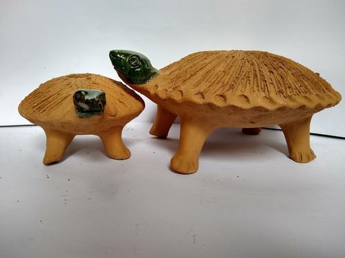 Imagen 1 de 4 de 2 Figuras  Para Chía Oaxaca Barro Colorado Artesanía  Atzomp