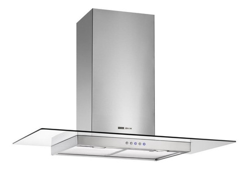 Extractor purificador cocina Spar Vetro ac. inox. y vidrio de pared 898mm x 48mm x 520mm plateado 220V