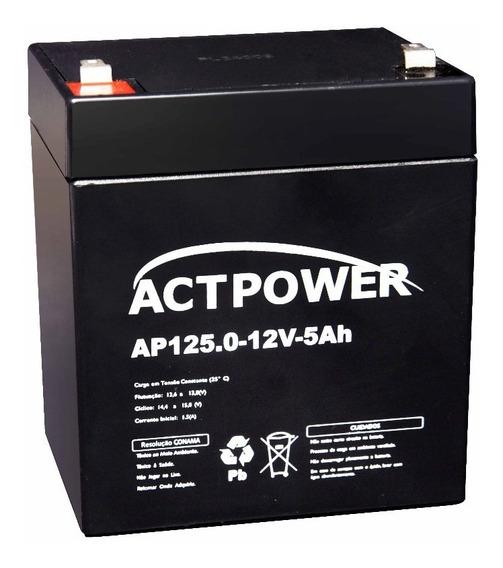 Bateria Selada 5ah 12v Vrla Alarme Nobreak Sms Apc Nhs