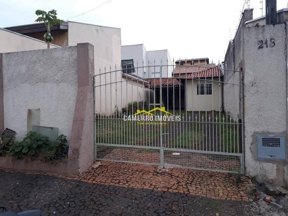 Casa Com 1 Dormitório Para Alugar, 100 M² Por R$ 800,00/mês - Jardim Amélia - Americana/sp - Ca1931