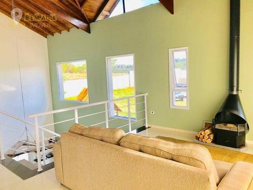Imagem 1 de 30 de Casa Com 4 Dormitórios À Venda, 300 M² Por R$ 950.000,00 - Condomínio Bothanica Itu - Itu/sp - Ca1547